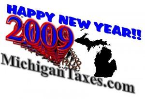 Happy New Year 2009 Michigan!